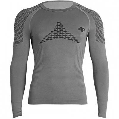 barbati Thermoactive Shirt 4F gri X4Z18 BIMB251G 20S
