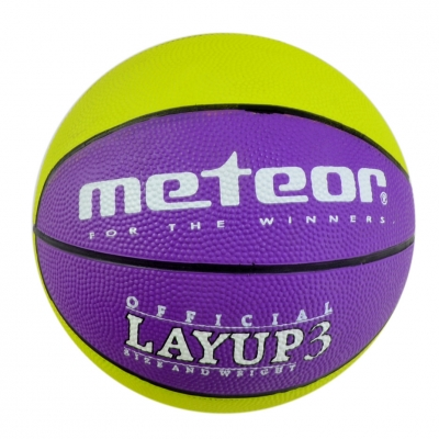 Minge METEOR LAYUP BASKETBALL verde / purpuriu 7066