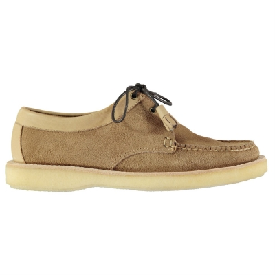 Bass Weejuns Tie Reverso Shoes maro piele intoarsa