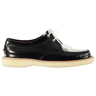 Bass Weejuns Tie Shoes negru alb