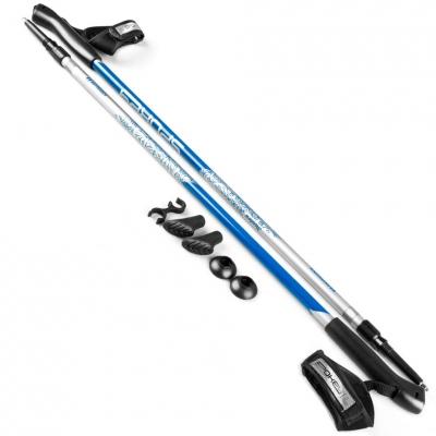 Bete ski Nordic Spokey Meadow Silver-albastru 926453 pentru femei