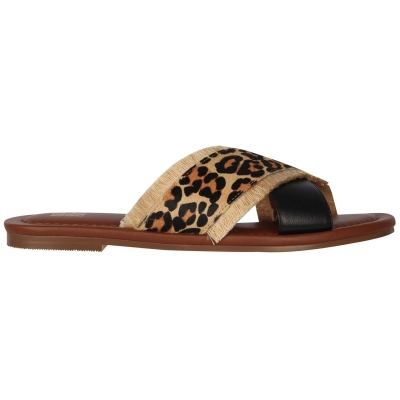 Sandale Biba X negru leopard