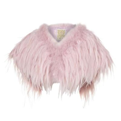 Biba Feather Bolero roz
