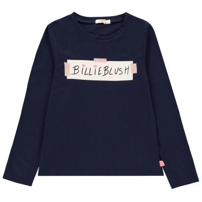 Bluza maneca lunga Billieblush albastru 85t