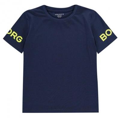 Tricou cu imprimeu Bjorn Borg albastru