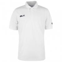 BLK Cricket Polo pentru Barbati alb