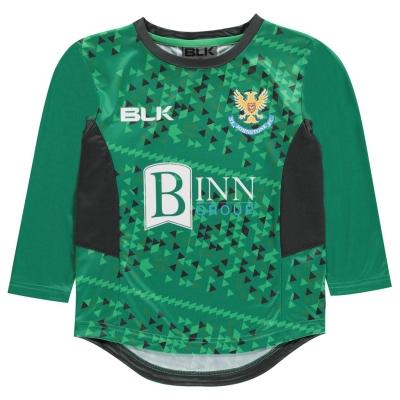 BLK St. Johnston FC Jersey Top pentru baieti verde