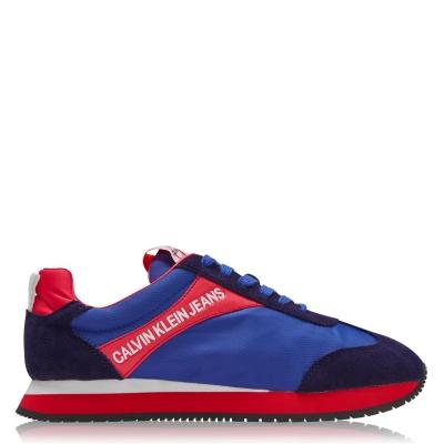 Adidasi sport Calvin Klein Jeans Jerrold Low Top multicolor albastru