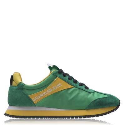 Adidasi sport Calvin Klein Jeans Jill pentru Femei multicolor verde