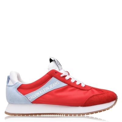 Adidasi sport Calvin Klein Jeans Jill pentru Femei rosu albastru