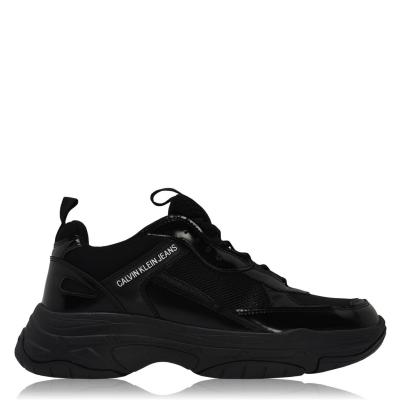 Adidasi sport Calvin Klein Jeans negru