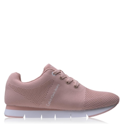 Adidasi sport Calvin Klein Jeans Tada pentru Femei roz