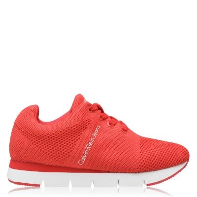 Adidasi sport Calvin Klein Jeans Tada pentru Femei rosu