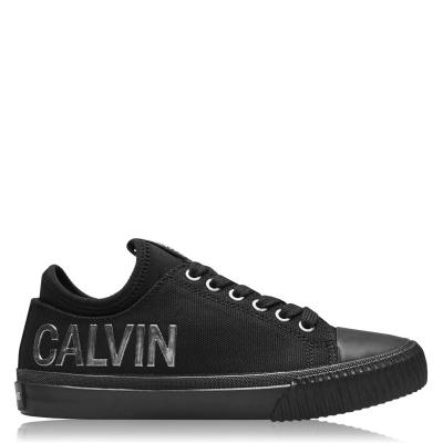 Adidasi sport Calvin Klein Jeans Irisa Low Top negru