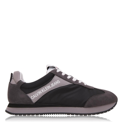 Adidasi sport Calvin Klein Jeans Jerrold Low Top multicolor negru