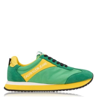 Adidasi sport Calvin Klein Jeans Jerrold Low Top multicolor verde