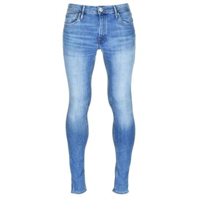 Blugi Jack and Jones Jeans Intelligence Tom Skinny Fit pentru Barbati albastru denim