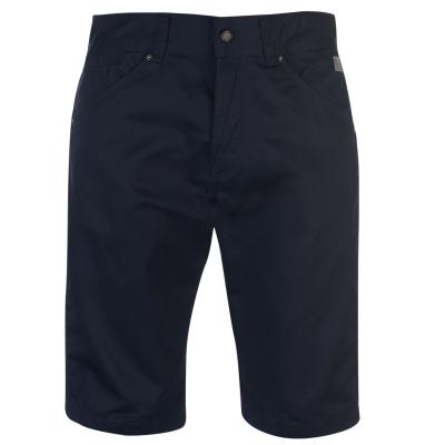 Blugi Pantaloni scurti Jack and Jones Intelligence Colins Chino bleumarin blazer