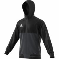 Bluza de trening adidas TIRO 17 negru-gri AY2856 barbati teamwear adidas teamwear