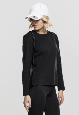Bluza atletic maneca lunga pentru Femei negru Urban Classics