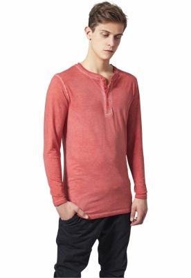 Bluza barbati aspect prespalat portocaliu Urban Classics