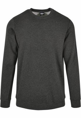 Bluza basic maneca lunga terry gri-carbune Urban Classics