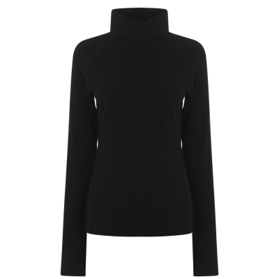 Bluza cu fermoar Karrimor Karrimor X OM Active pentru Femei negru
