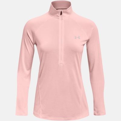 Bluza cu fermoar Under Armour Technical pentru Femei rosu tint