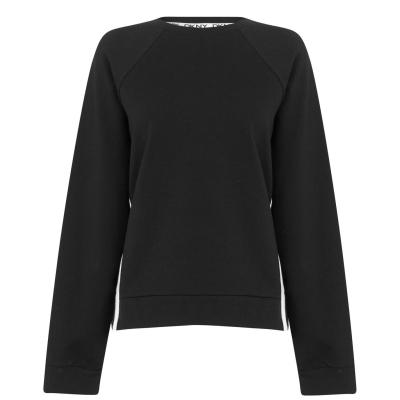 Bluza cu maneca lunga DKNY MYM negru