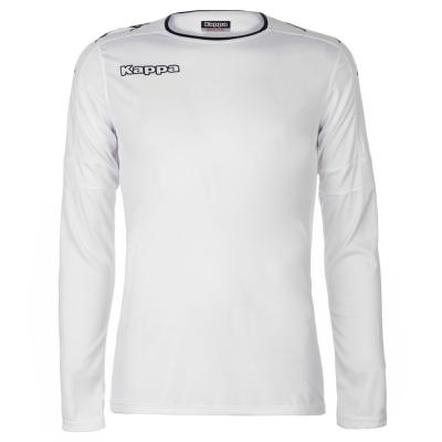 Bluza cu maneca lunga Kappa Santos pentru Barbati alb negru