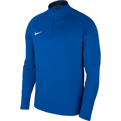 Bluza sport maneca lunga Nike Dry Academy 18 albastru 893624 463 pentru barbati