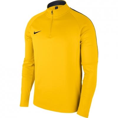 Bluza sport maneca lunga Nike Dry Academy 18 galben 893624 719 pentru barbati