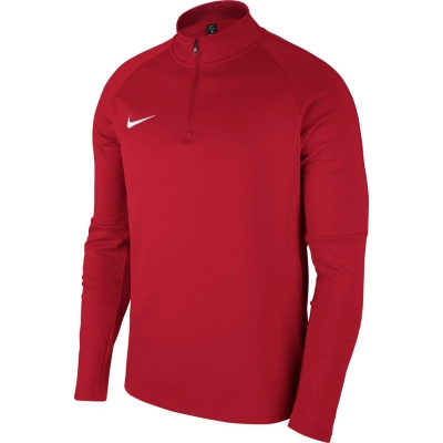 Bluza sport maneca lunga Nike Dry Academy 18 rosu 893624 657 pentru barbati