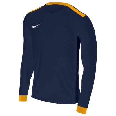 Bluza cu maneca lunga Nike Park II pentru baietei bleumarin auriu alb