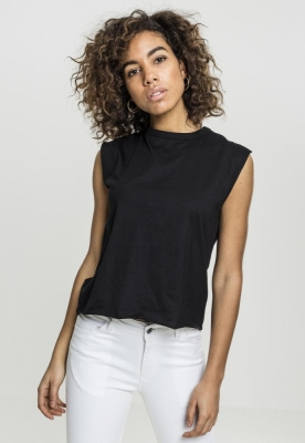 Bluza cu siret Jersey pentru Femei negru Urban Classics