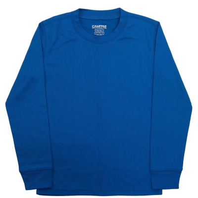 Bluza de corp Campri termic Unisex pentru copii albastru
