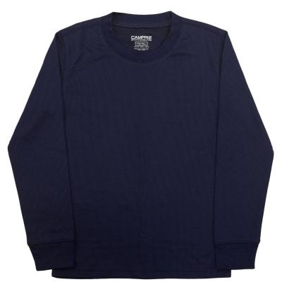 Bluza de corp Campri termic Unisex pentru copii bleumarin