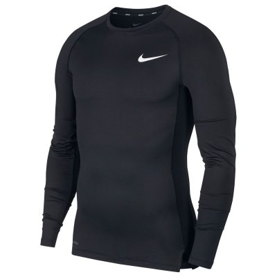 Bluza maneca lunga Nike Pro Core pentru Barbati negru