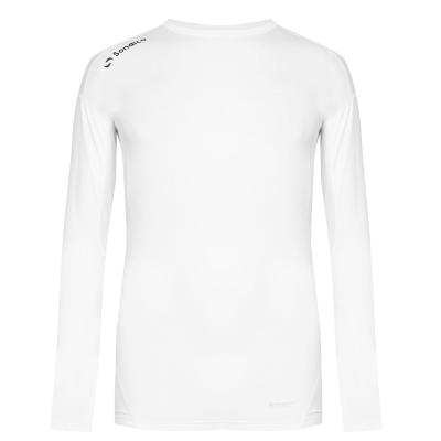 Bluza de corp cu maneca lunga Sondico Base Core pentru Barbati alb