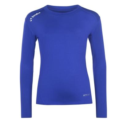 Bluza de corp Sondico cu maneca lunga pentru copii albastru roial