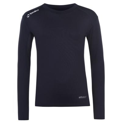 Bluza de corp Sondico cu maneca lunga pentru copii bleumarin