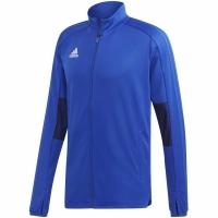 Bluza de trening Adidas Condivo 18 antrenament albastru ED5919 barbati teamwear adidas teamwear