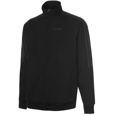 Jacheta adidas Sereno Presentation pentru Barbati negru gri
