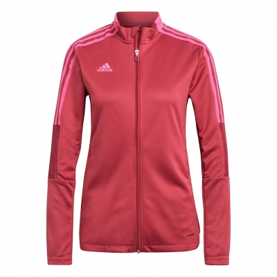 Bluza de trening Adidas Tiro Track 21 Róşowa GP0730 pentru femei