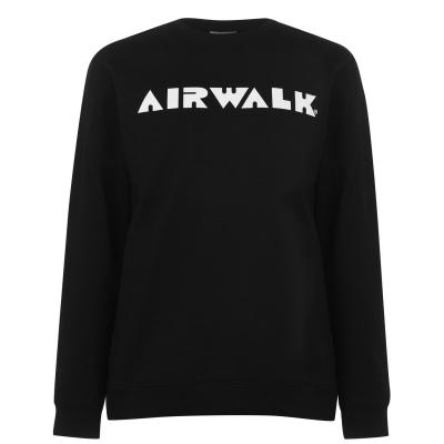 Bluza de trening Airwalk Logo pentru Barbati negru