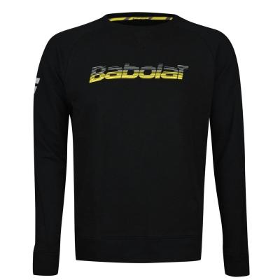 Bluza de trening Babolat Core pentru copii negru