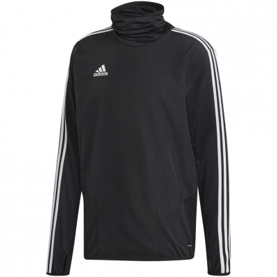 Bluza sport barbati adidas Tiro 19 Warm Top negru DJ2593 teamwear adidas teamwear