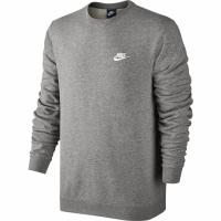 Bluza sport barbati Nike M NSW Crew FT Club gri 804342 063