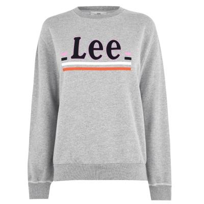 Bluza de trening Blugi Lee Logo txmp gri