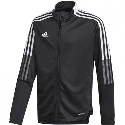 Bluza de trening Bluza de trening For Adidas Tiro 21 Youth negru GM7314 pentru Copii